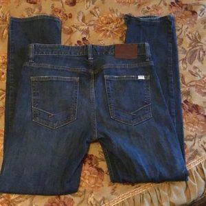 """Vans jeans 31"""" by 30"""" EUC; mid-rise waist."""